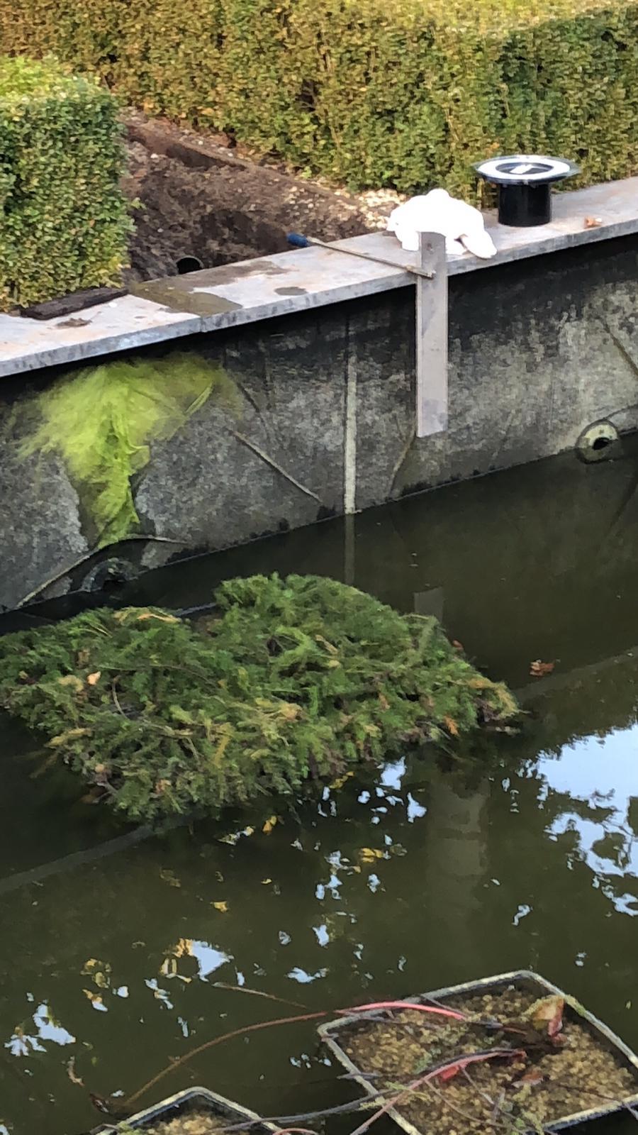 vijverrenovatie Krimpen aan den IJssel